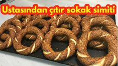 How to make istanbul simit / simit directions - street simit- How to make Turkish crispy bagel - Turkish Simit Recipe, Turkish Recipes, Ethnic Recipes, Istanbul, Wie Macht Man, Eastern Cuisine, Savoury Baking, Egg Recipes, Food Videos