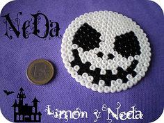 Limón y Neda: Pyssla Perler bead Jack