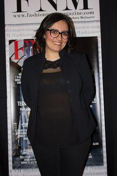 Il direttore Barbara Molinario FNM Fashion News Magazine al vegetariano Margutta