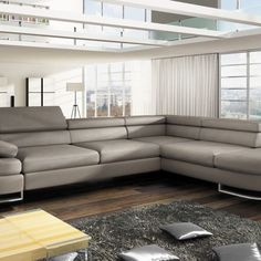 ICE sofa - Sofas beds furniture shop Oslo Norway Relax, Angles, Large Storage Units, Sofa Bed, Couch, Canapé Angle Convertible, Contemporary Living Room Furniture, Center Table, Beige