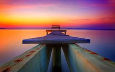 Dock Bench Sunset, Lake Pierce, Rockford, Illinois photo via pixdaus Water Photography, Amazing Nature, Places To Go, Around The Worlds, Ocean, The Incredibles, Life, Wallpapers, Desktop Backgrounds
