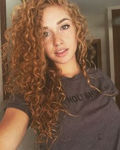Her curls are gorgeous