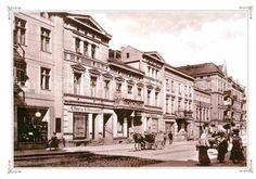 Ansichtskarte Insterburg Hindenburgstrasse