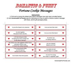 Free Able Template For And Funny Fortune Cookie Messages