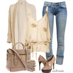 Just So Beige, created by archimedes16 on Polyvore