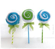 Lollipop cadeau d'invité baby shower garcon - Babys Cakes