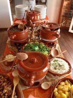 Cozinhando com Bernadete: FEIJOADA: BRASILEIRA