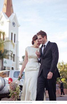 Wedding Dresses | Kris and Magdaleen's 1930s wedding