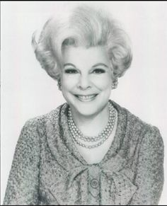 Virginia Graham — Daytime TV talk show host of three syndicated shows: Food for Thought (1953-57), Girl Talk (1962-69), & The Virginia Graham Show (1970-72).