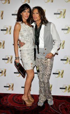 Inside Steven Tyler's House | Aerosmith singer Steven Tyler (R) and girlfriend Erin Brady, arrive ...