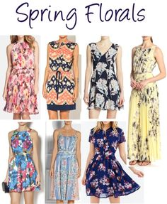 Easter Style with Spring Florals {Shop the Looks on DailyKaty.com}