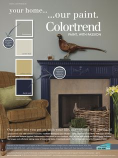 Pin by Colourtrend Paints on Inspiring Ads in 2019 . Paint Color Schemes, Room Paint Colors, Paint Colors For Living Room, Paint Colors For Home, Bedroom Colors, Bedroom Ideas, Home Decor Styles, Cheap Home Decor, Colourtrend Paint