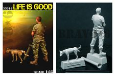 A resin kit in 1/35 scale available now at highcalibreminiatures.com! Click on the pic for more details and FREE worldwide shipping on all orders of $90 or more Military Modelling, Life Is Good, Resin, Scale, Good Things, Kit, Models, Movie Posters, Free