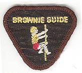 Vintage Brownie Guide badge - Agility
