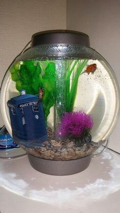My biorb complete with tardis and the good doctors 9 & 10