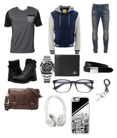 Collage jock/nerd by carebearlover on Polyvore featuring polyvore, Billabong, Scotch & Soda, Aéropostale, Timberland, Rolex, FOSSIL, Vivienne Westwood, Beats by Dr. Dre, Casetify, The British Belt Company, men's fashion, menswear and clothing