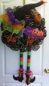 decoracion con coronas para puerta halloween pinterest - Buscar con Google