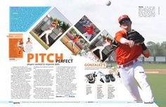 Baseball spread.