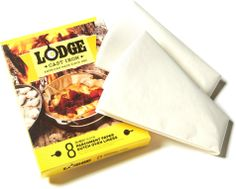 Lodge Camp Dutch Oven liners let you cook your meal, then toss the liners for lightning fast, water-free clean-up. #REIGifts