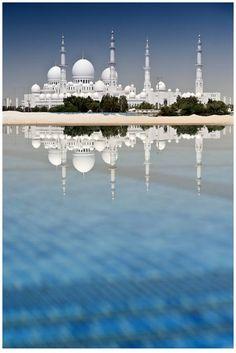 Sheikh Zayed Grand Mosque - Mesquita, Abu Dhabi.