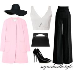 fafa3a82810 Signedwithstyle created this week's featured #PolyvoreOOTD, a minimalistic,  chic look we love.