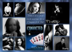 Blog Tour: Review, Interview & Giveaway for Convicted by Aleatha Romig  The photo is made by the amazing Beth MacMullin