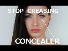 See how to - STOP Under Eye Concealer from Creasing! - yes! I have this problem all the time!