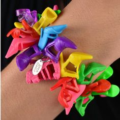 Matching Barbie doll shoe bracelet..just can't ever have enough shoes!