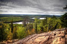 Eagle Mountain by Elizabeth Robinson  // This fall I was lucky enough to be able to hike to the tallest natural point in Minnesota  ~Eagle Mountain~ 2,301 ft