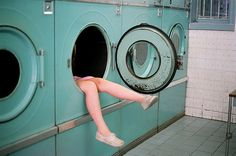 """""""Write a story that takes place entirely in a laundromat."""" -- That would be called an autobiography in this case."""