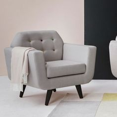 Flower Armchair - Grey by SIT_ON_DESIGN 222