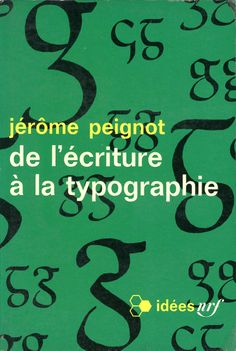 Idées no. 126 (human sciences), published by Gallimard, Paris, 1967. Photo-graphisme: Henry Cohen