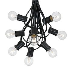 G30 Globe Outdoor String Lights With 125 Clear Globe Bulbs By Novelty Lights  Commercial Grade  Outdoor Lights  Bulb String Lights  Globe String Lights  Globe Lights  Patio String Lights  Black Wire  100 Foot * More info could be found at the image url.