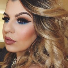 Makeup and hair ♡ @ourfazinali
