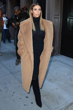 How to wear winter's must-have duster coat.