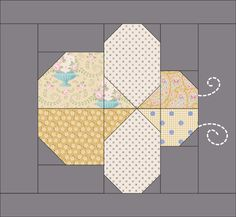 Explanations in two colorways, Red / Teal and Blue/Ginger. Finished Size: x x after binding. Quilt Square Patterns, Quilt Patterns Free, Pattern Blocks, Square Quilt, Paper Pieced Patterns, Paper Piecing, Small Quilts, Mini Quilts, Patch Quilt