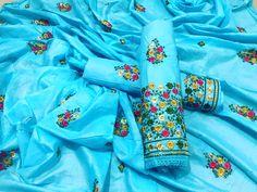 B4UFashion Present Lovely Sky Blue Color Partywear Embroidered Cotton Dress Material For Order 📲9033763613 📲07572803833   🌍🌍Worldwide Delivery🌍🌍  #anarkalisuit #anarkali #Dress #salwaarsuit #lehengacholi #lehenga #saree #indianfashion #indianwear #indianwedding #bridalfashion #bollywoodstyle #ethincfashion #fashion #sareelove #indianfashion #weddinginspiration #beautifulbride #wedding #shopping #b4ufashion #indianfashionblogger