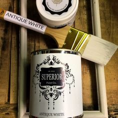 Chalk Paint Superior Paint Co. Antique White Canadian Made Fresh Furniture Paint by SuperiorPaintCo on Etsy