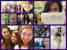 Good news #KISPinoy fans! In appreciation of your passion and support, we will be featuring some of your photos in our social media accounts.  If you would like to be part of our social media round-up, just use #KISPinoy for your posts and we will cull the various platforms and feature you.  So let's get the ball rollin'. Here you go our first round-up post! Thank you guys for supporting KISPinoy. Fighting!
