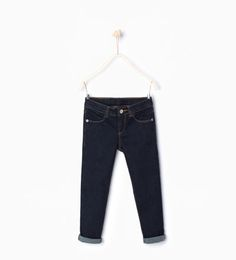 Basic denim bukser slim fit-Jeans-Pige | 4-14 år-BØRN | ZARA Danmark