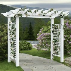 The wooden pergola is a good solution to add beauty to your garden. If you are not ready to spend thousands of dollars for building a cozy pergola then you may devise new strategies of trying out something different so that you can re Diy Pergola, Pergola Swing, Deck With Pergola, Cheap Pergola, Wooden Pergola, Covered Pergola, Outdoor Pergola, Pergola Shade, Gazebo