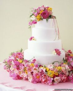 Papery Sweet Peas | Martha Stewart Weddings