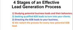 Studying potential business leads and their behaviors. Seeking qualified leads to turn into your clients. Directing the leads to your business. We restart the process for every new potential lead. Lead Generation, Studying, Behavior, Business, Behance, Learning, Study, Training