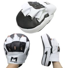 MMA Focus Mitts a Pair Leather Angled Contoured Precurved Pads Hook Jab Strikes for sale online Key Bank, Boxing Gloves, Training Equipment, Judo, Karate, Mma, Contour, Angles, Gym Bag