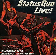 """For Sale - Status Quo Live! UK 7"""" vinyl single (7 inch record) - See this and 250,000 other rare & vintage vinyl records, singles, LPs & CDs at http://eil.com"""