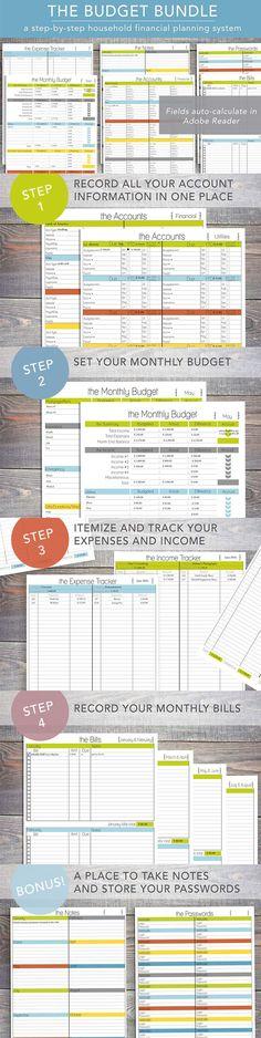 FREE Printable Weekly Meal Planner Printable budget sheets - free printable budget planner