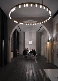 Viabizzuno   Royal Chandelier   Pendant chandelier light fitting by David Chipperfield and Mario Nanni