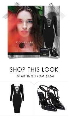"""Untitled #280"" by mlannan ❤ liked on Polyvore featuring Posh Girl and Valentino"