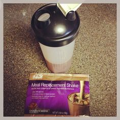 Always look forward to my AdvoCare meal replacement shake!