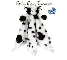 ... Diinglisar Tame Cuddle Blanket - Cow  the latest 0a094 ec475 Fuzzy  Factory - Cow Security Blanket ... a16884af3